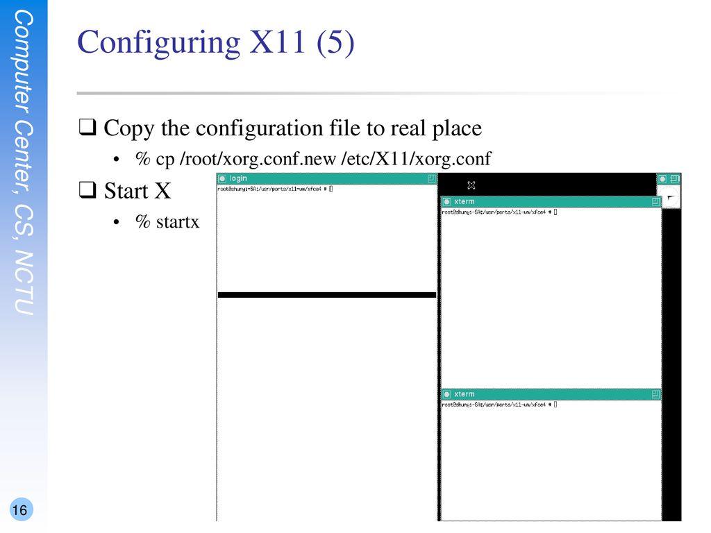 X Window System shunyi 2014/09/ ppt download