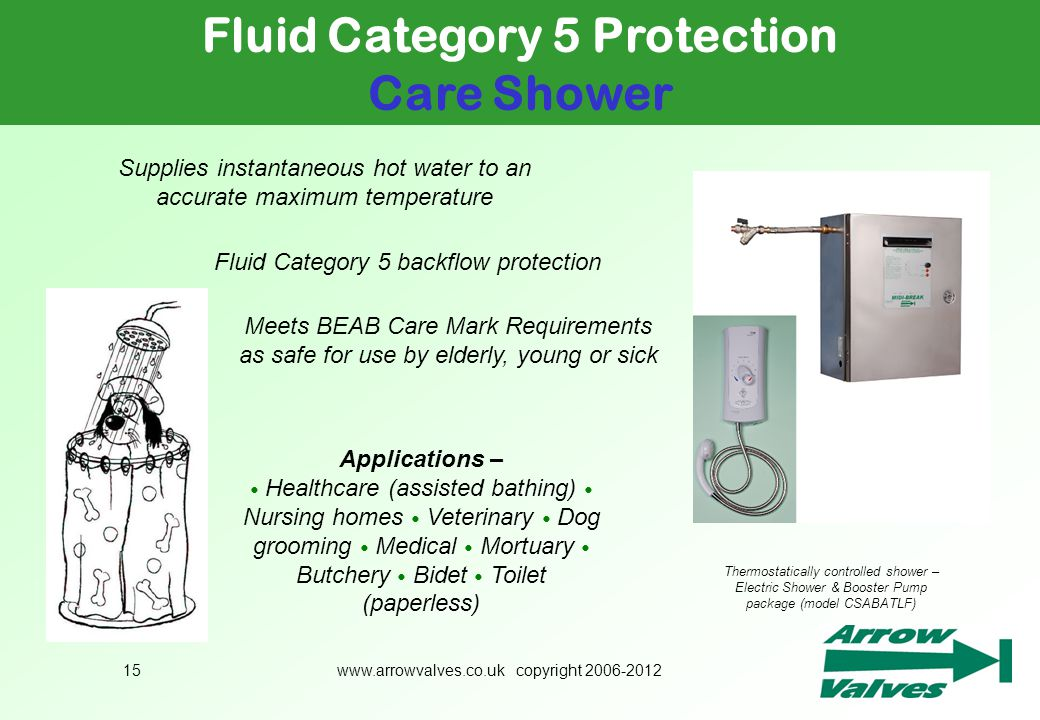 Fluid Category 5 Protection