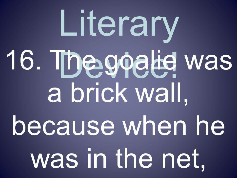 Name That Literary Device!
