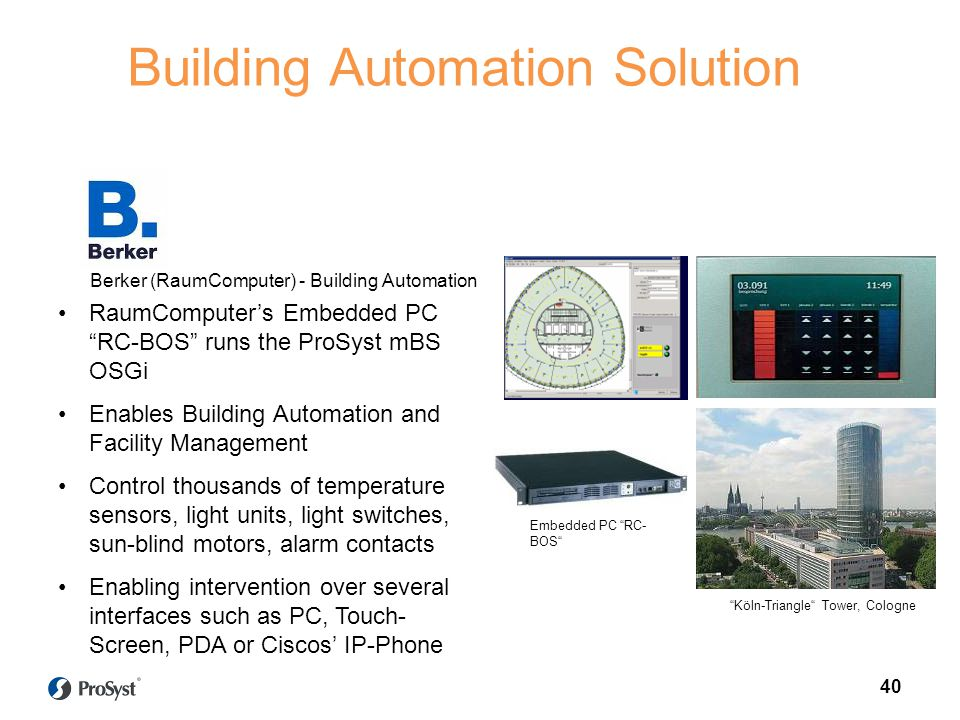 Building Automation Solution