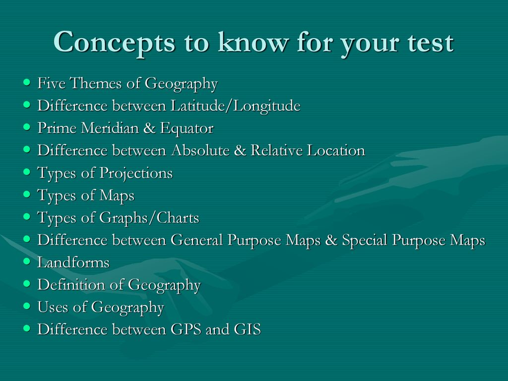 THE 5 THEMES OF GEOGRAPHY - ppt download