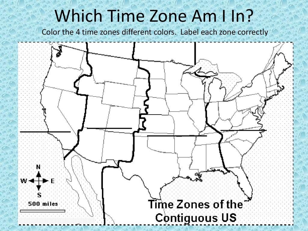 What Are Time Zones?. - ppt download