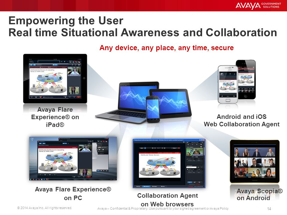 Empowering the User Real time Situational Awareness and Collaboration