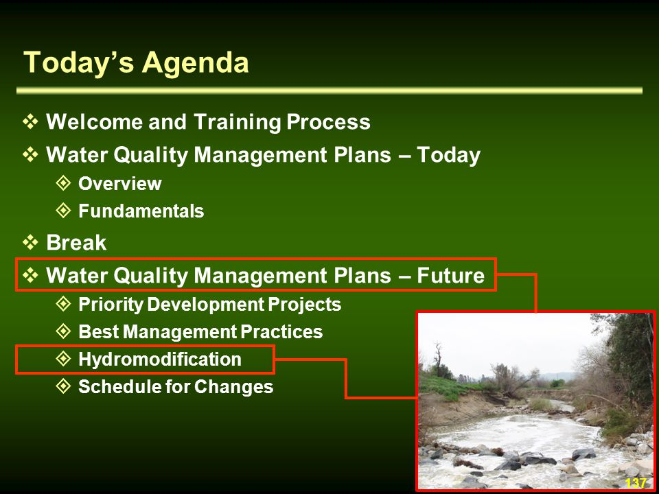 Today's Agenda Welcome and Training Process