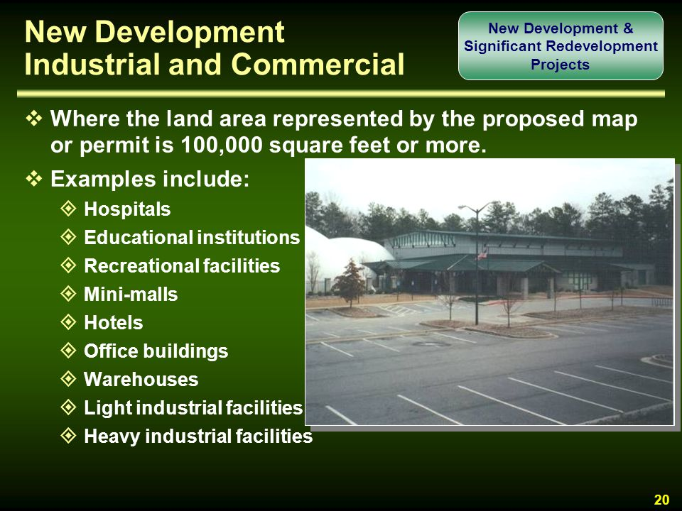 New Development Industrial and Commercial