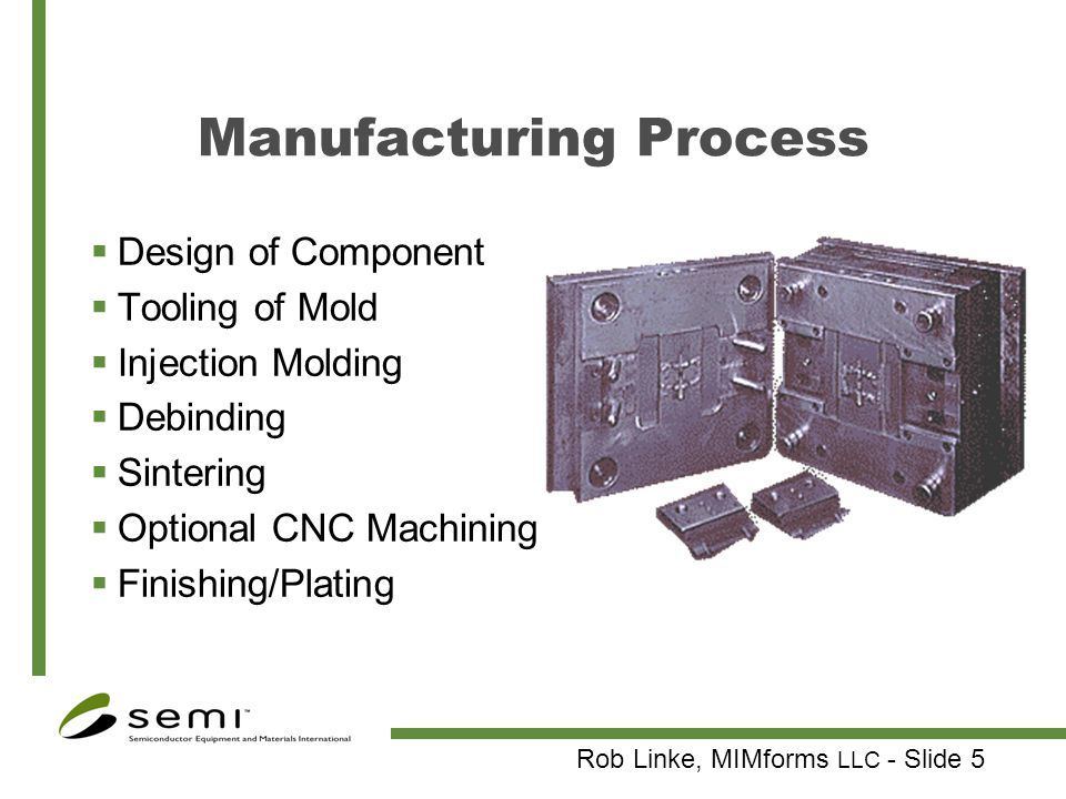 Metal Injection Molded Photonic Device Packaging - ppt video online