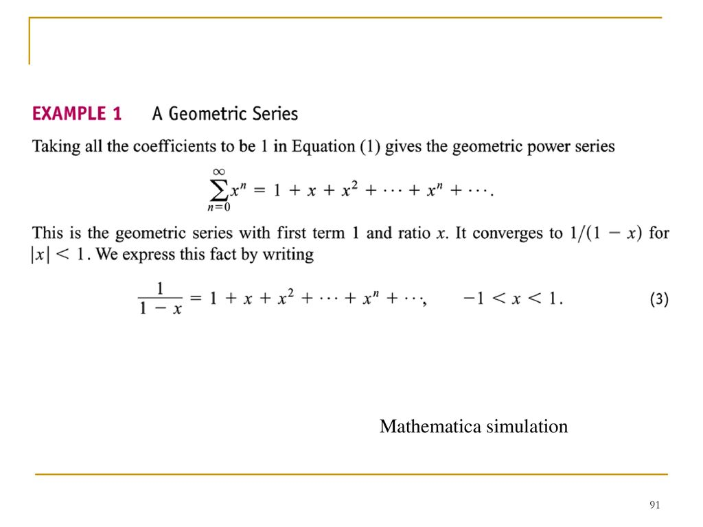 Infinite Sequences and Series - ppt download