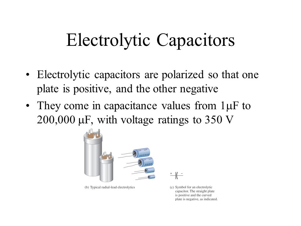 Chapter 9 Capacitors Ppt Download