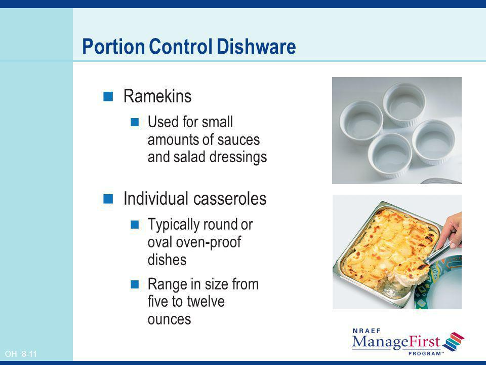 Portion Control Dishware