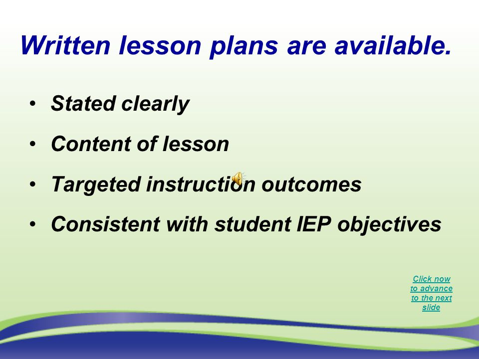 Written lesson plans are available.