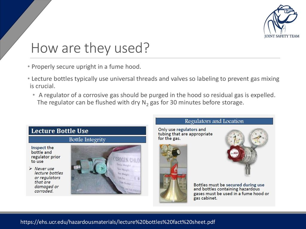 Safety Moment Lecture Bottle Safety  - ppt download