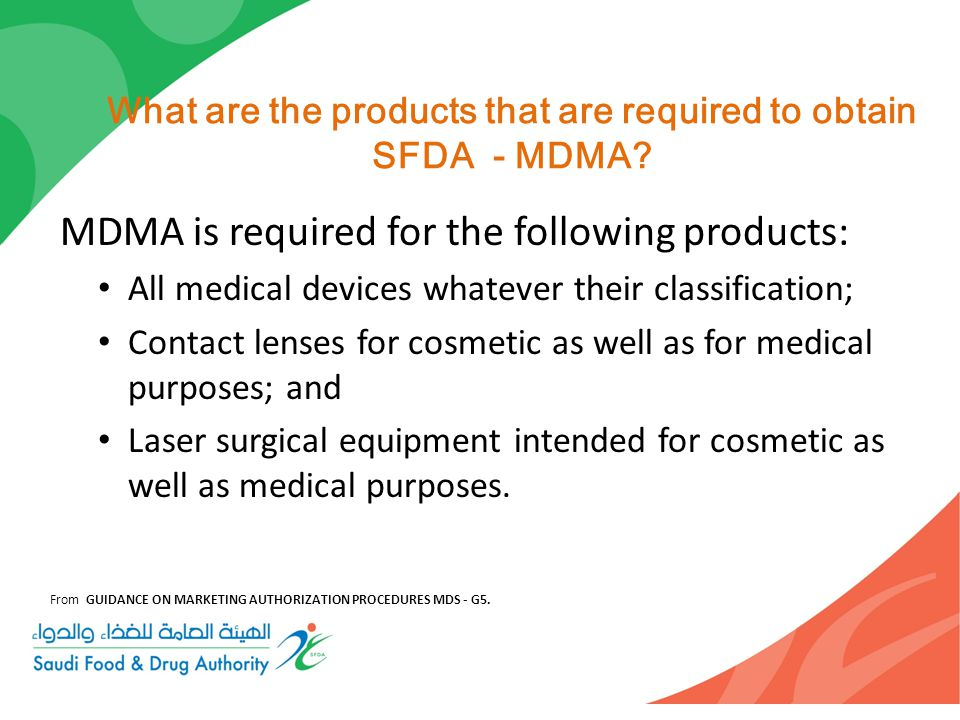 Medical Devices Marketing Authorization Mdma Ppt Download