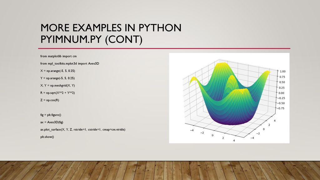 Introduction to Script languages such as Python, PERL, PHP - ppt