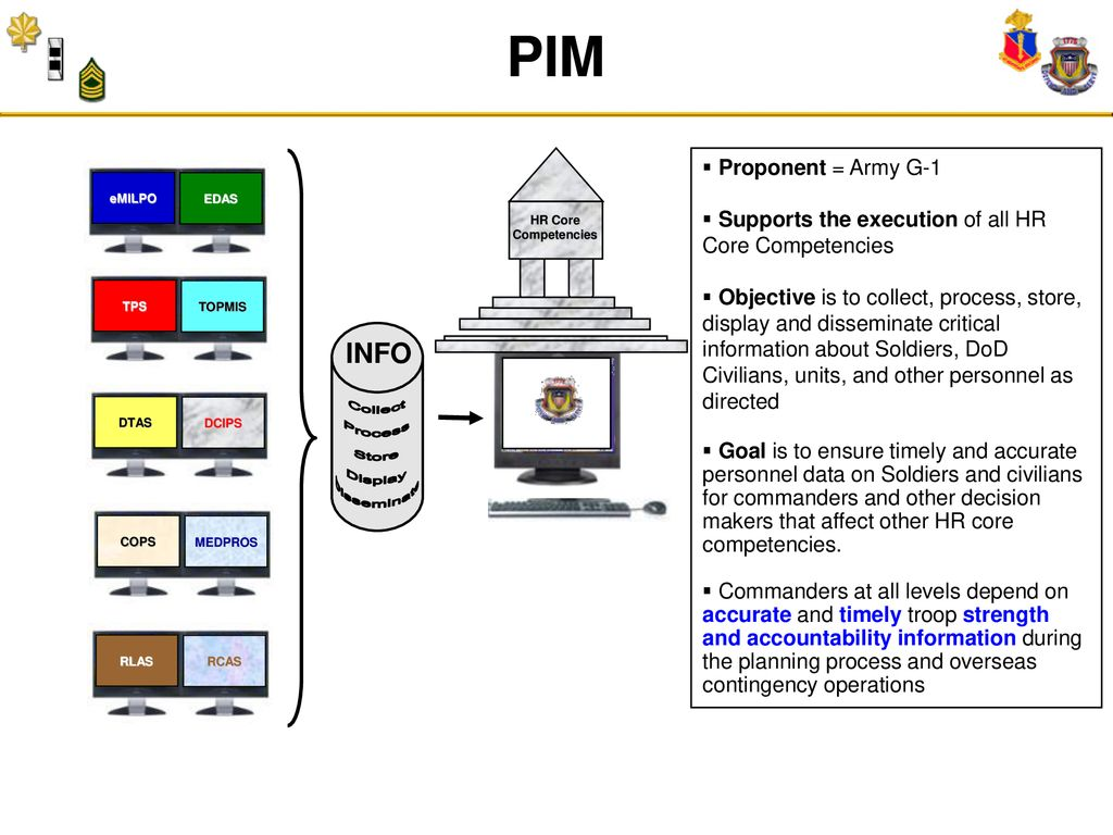 Direct Personnel Information Management - ppt download