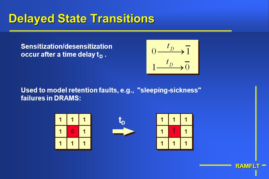 Delayed State Transitions