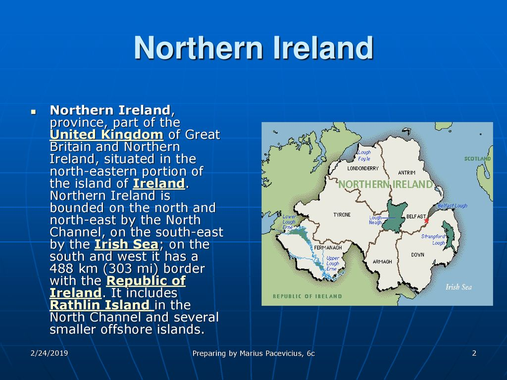 Map Of Ireland Lakes.Northern Ireland Lakes And Rivers Ppt Download