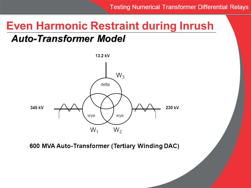 Testing Numerical Transformer Differential Relays Ppt Download