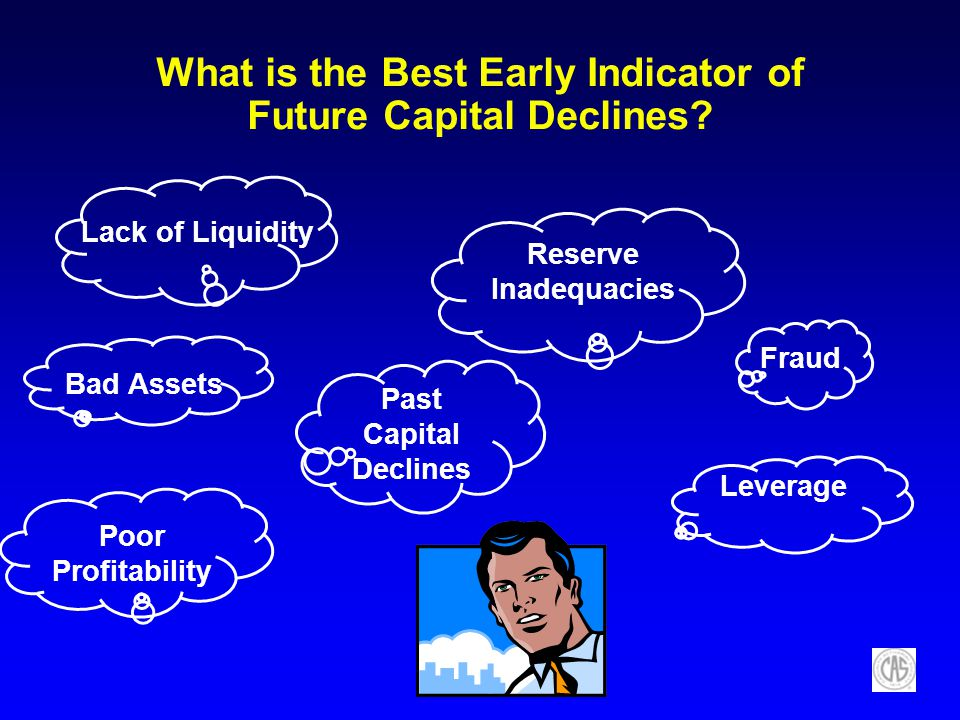 What is the Best Early Indicator of Future Capital Declines