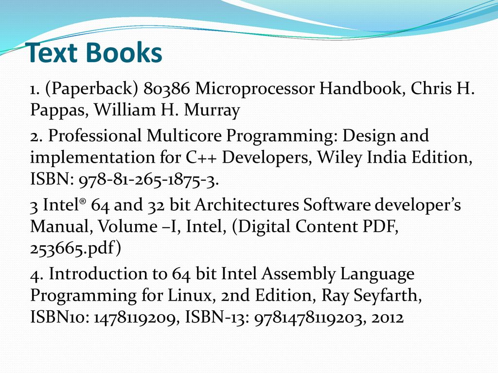 MICROPROCESSOR ARCHITECTURE REVATI M WAHUL - ppt download