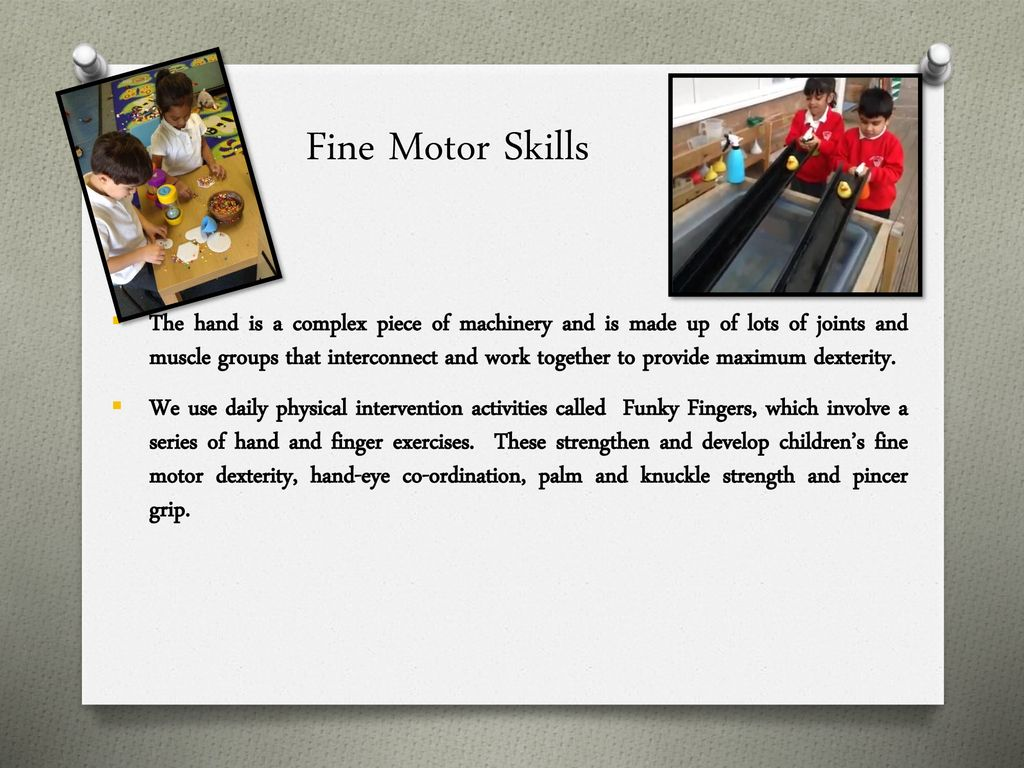 Journey to writing through motor skills - ppt download