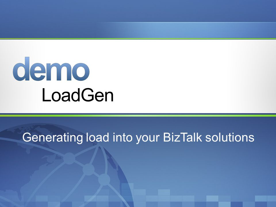 Generating load into your BizTalk solutions