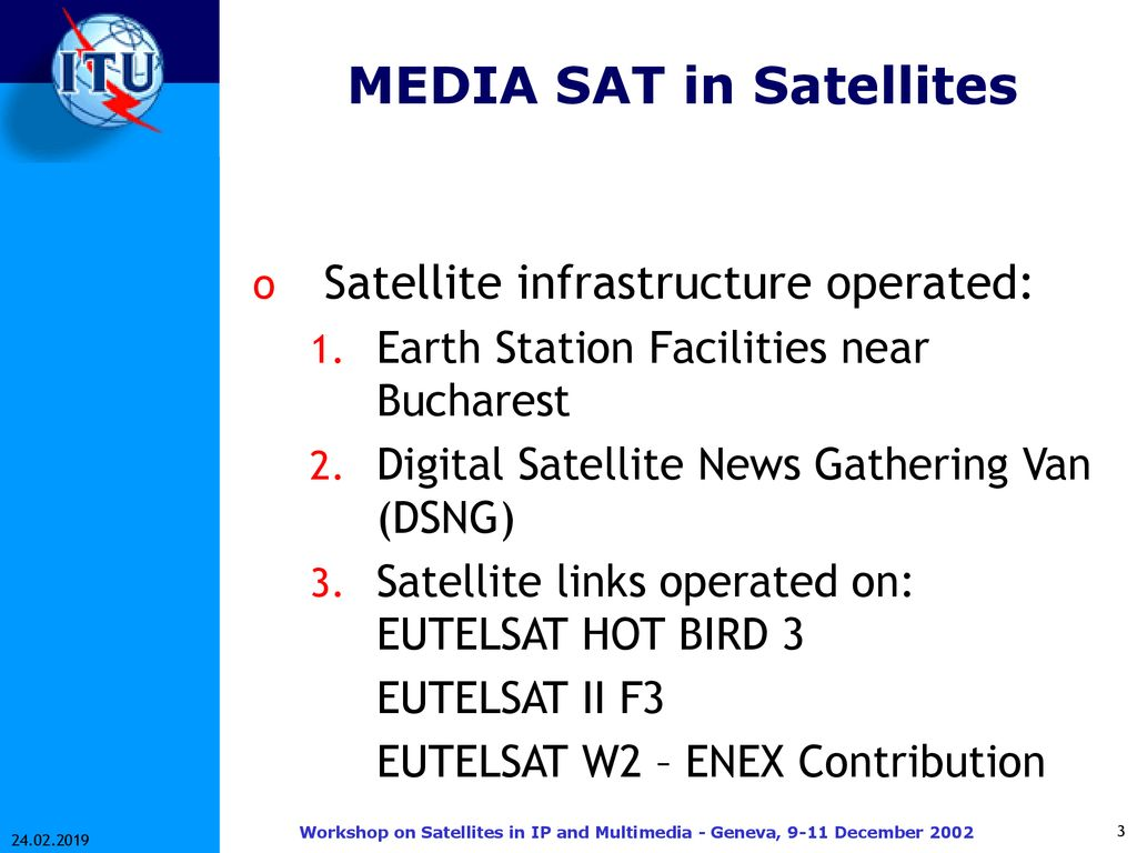 Satellite Operations in Romania - ppt download