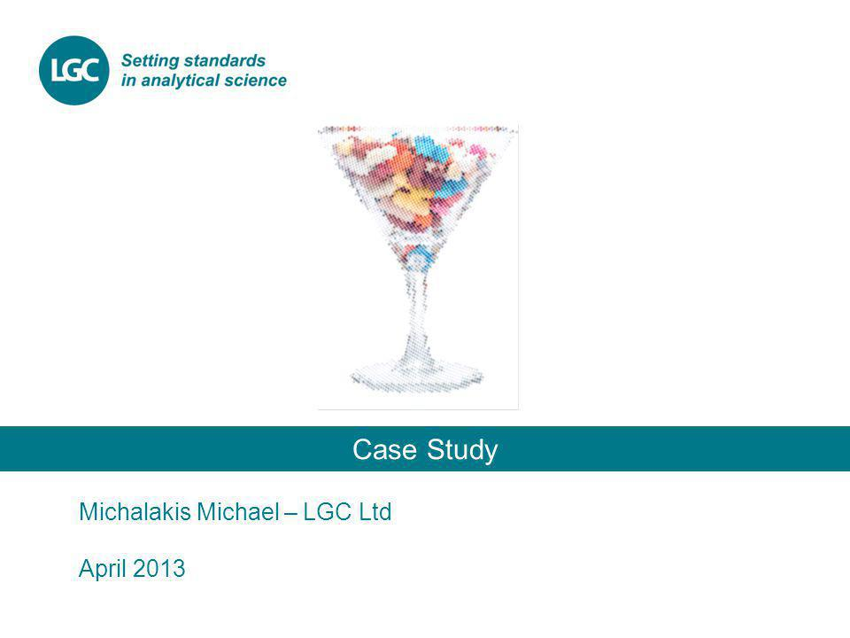 Case Study Michalakis Michael – LGC Ltd April 2013