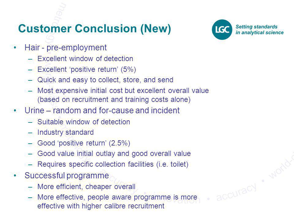 Customer Conclusion (New)