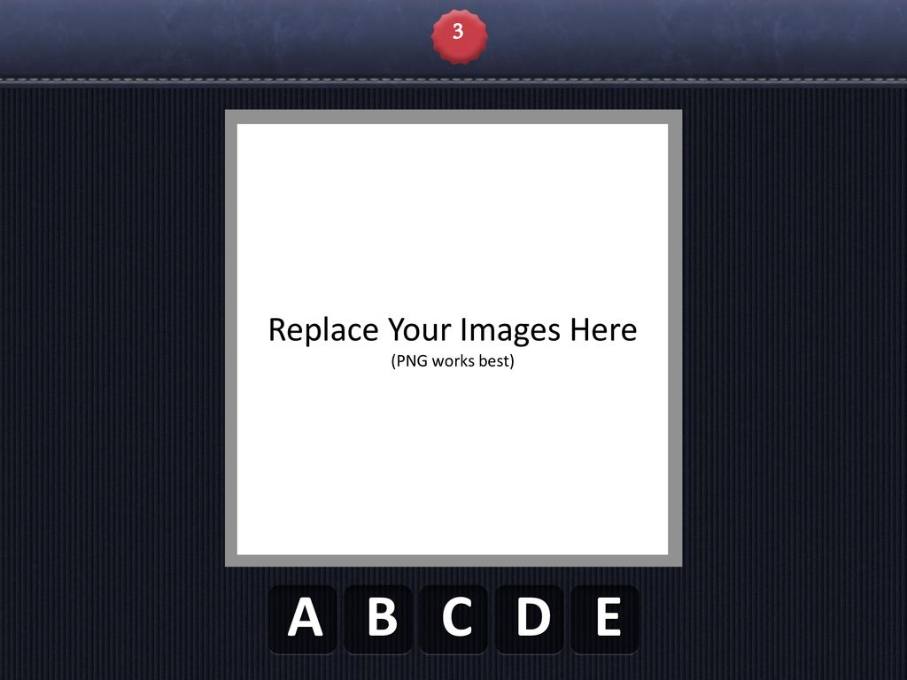 Replace Your Images Here