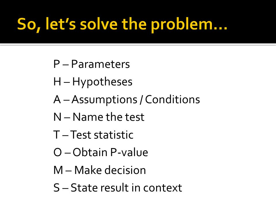 So, let's solve the problem…