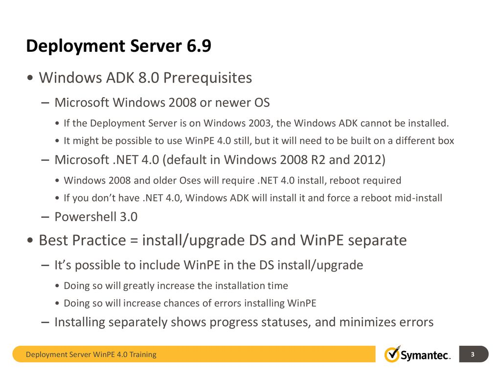 Deployment Solution Training WinPE ppt download