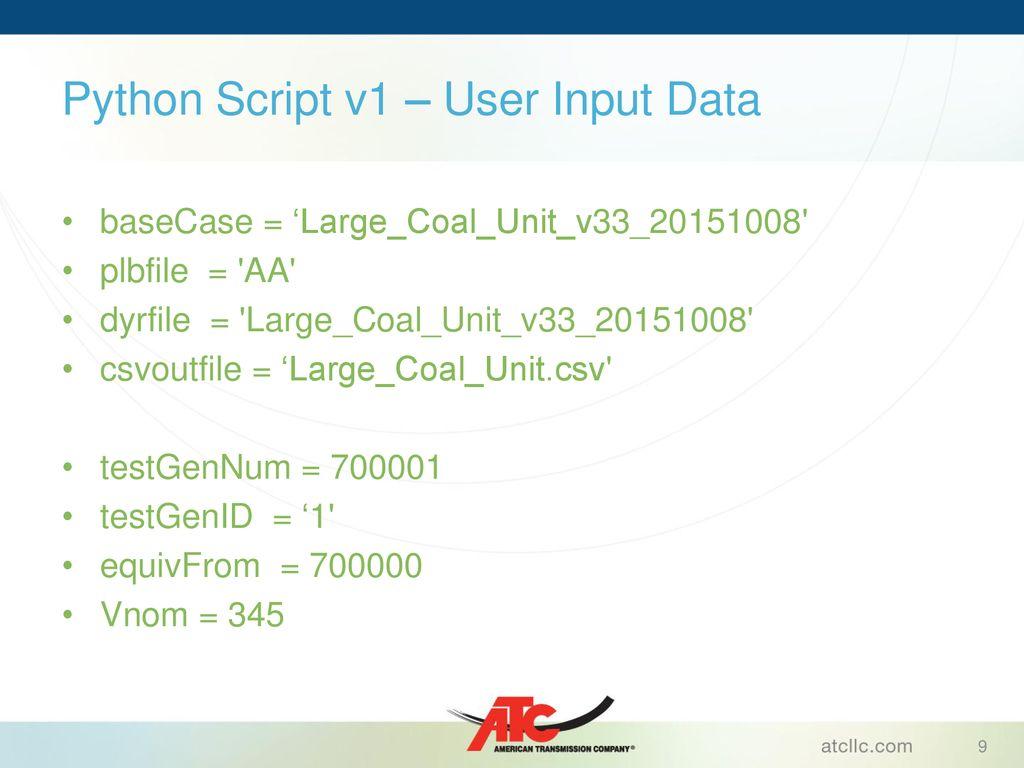 PSSE Playback Model Validation with PMU Data - ppt download