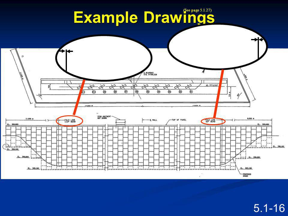 Example Drawings PLAN ELEVATION Speaking Points
