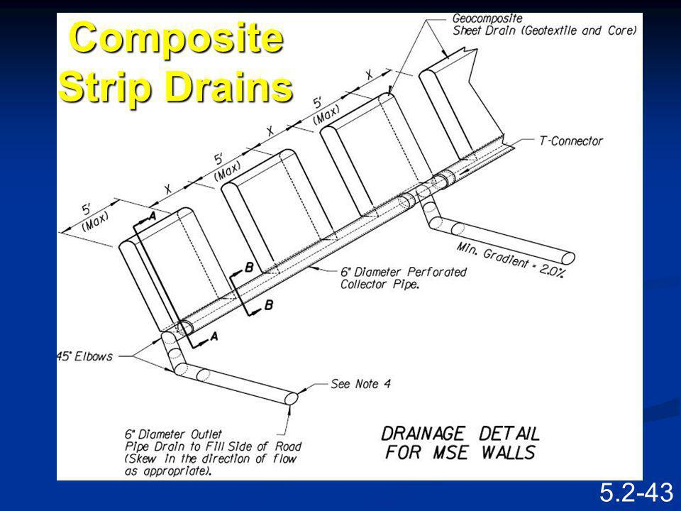 Composite Strip Drains