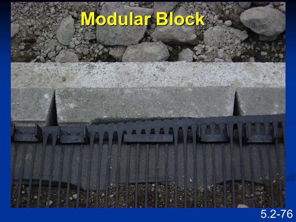 Modular Block Speaking Points