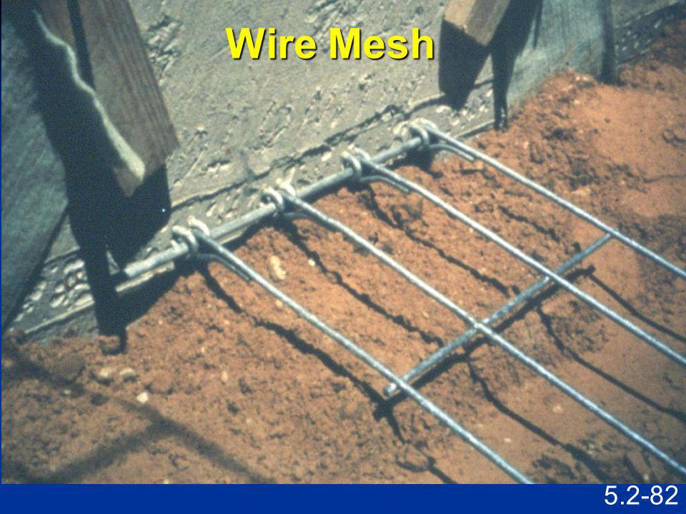 Wire Mesh Speaking Points