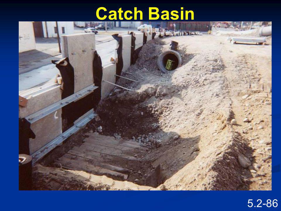 Catch Basin Speaking Points