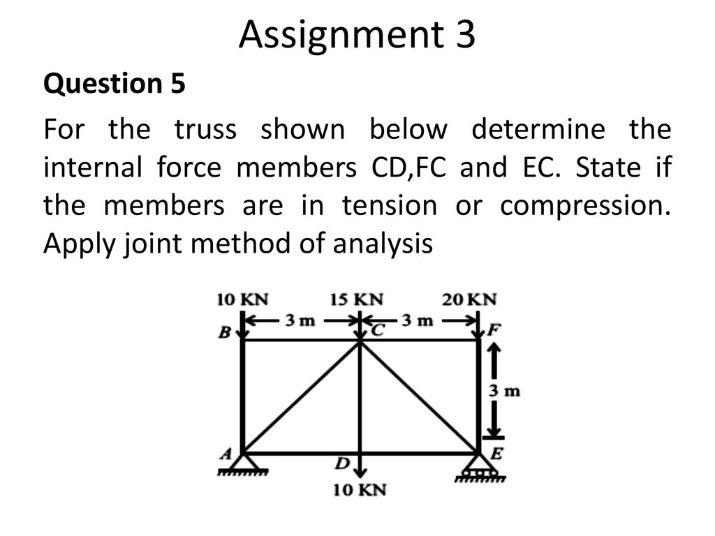 ANALYSIS OF STRUCTURES - ppt download