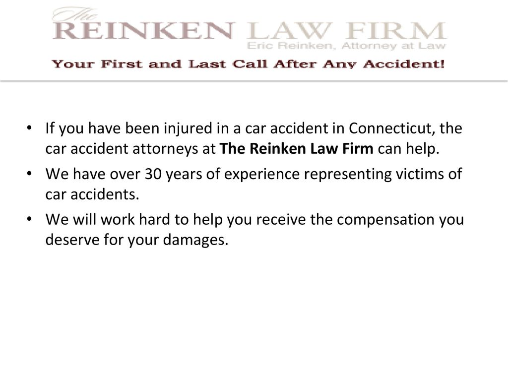 Required Evidence for a Car Accident Case in Connecticut