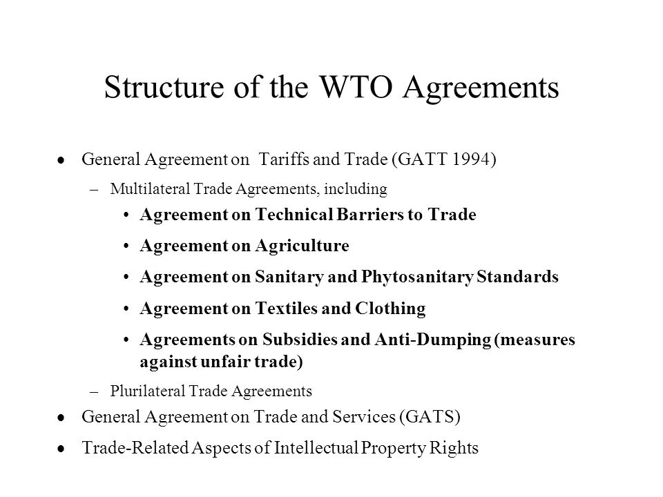 The Uruguay Round Agreement On Agriculture Ppt Download