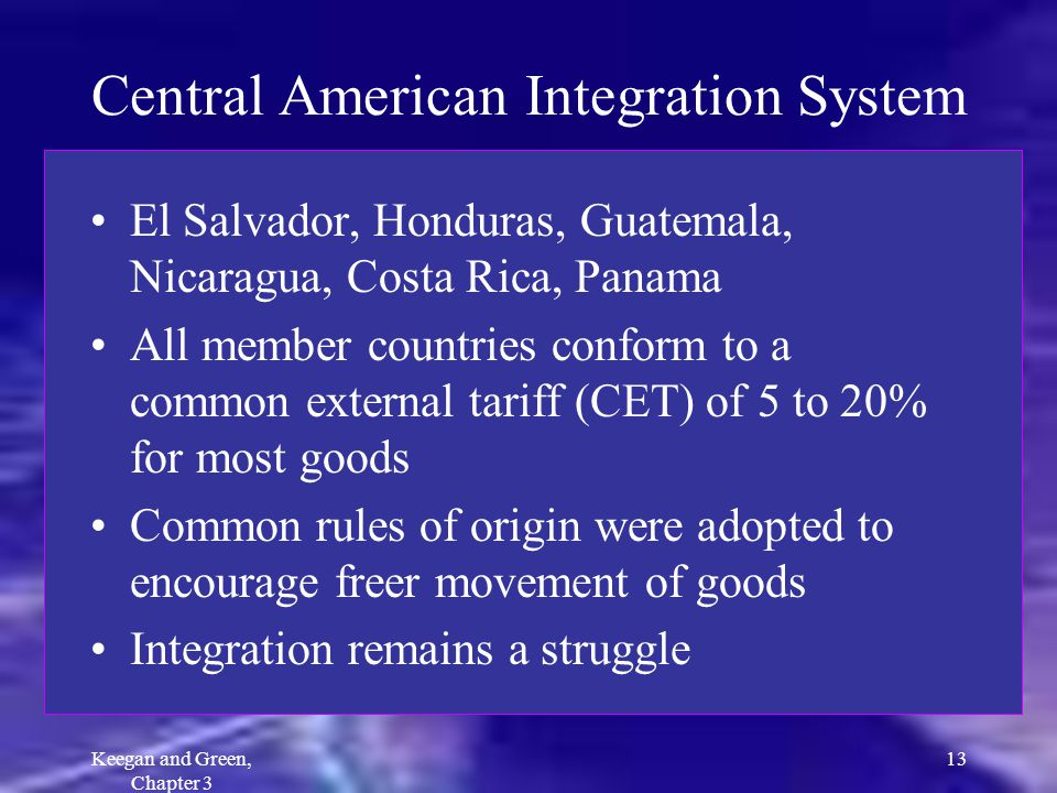 Central American Integration System