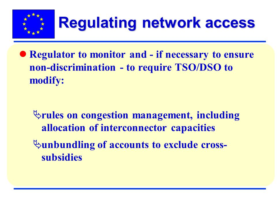 Regulating network access