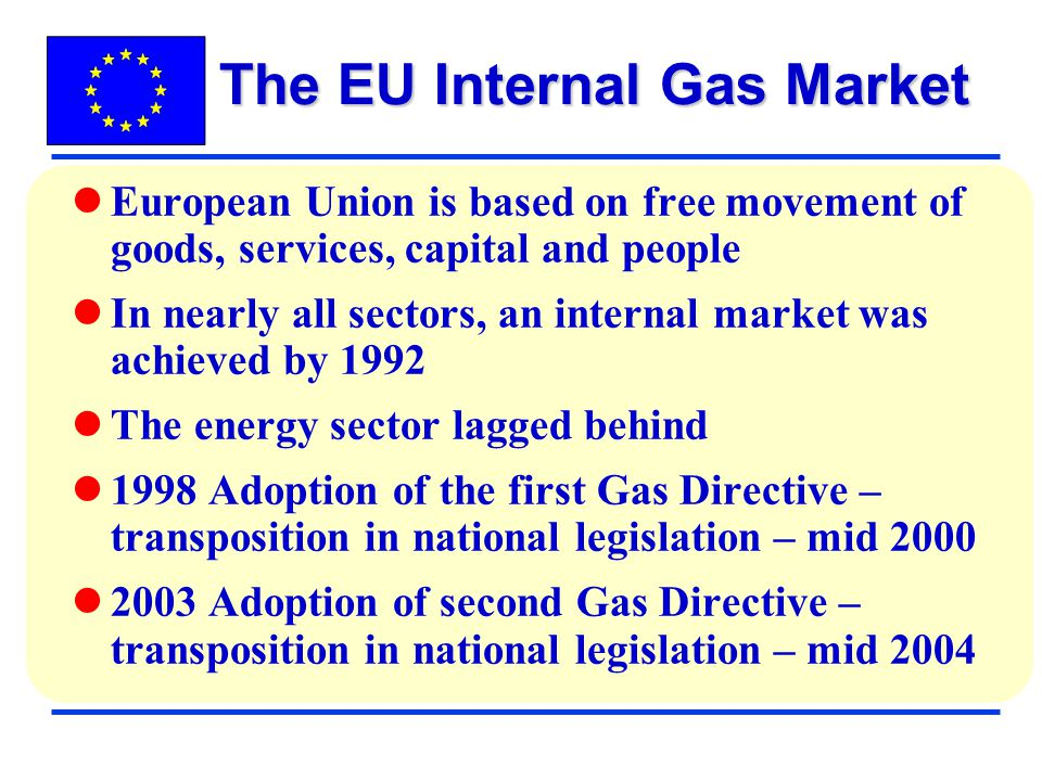 The EU Internal Gas Market