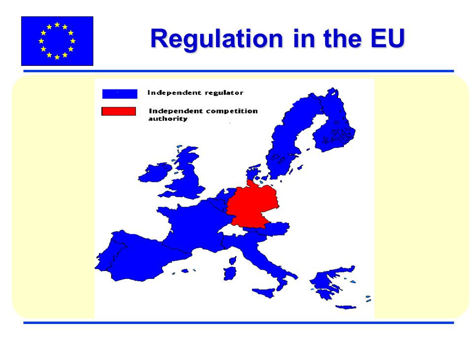 Regulation in the EU