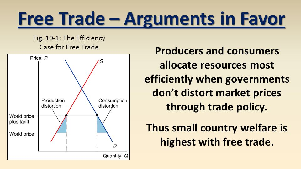 arguments in favor of free trade