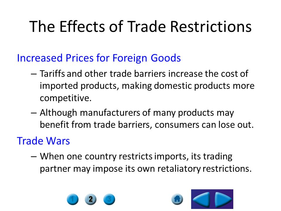 Trade Barriers And Agreements Ch Ppt Download