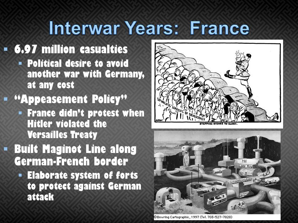 Interwar Years: France