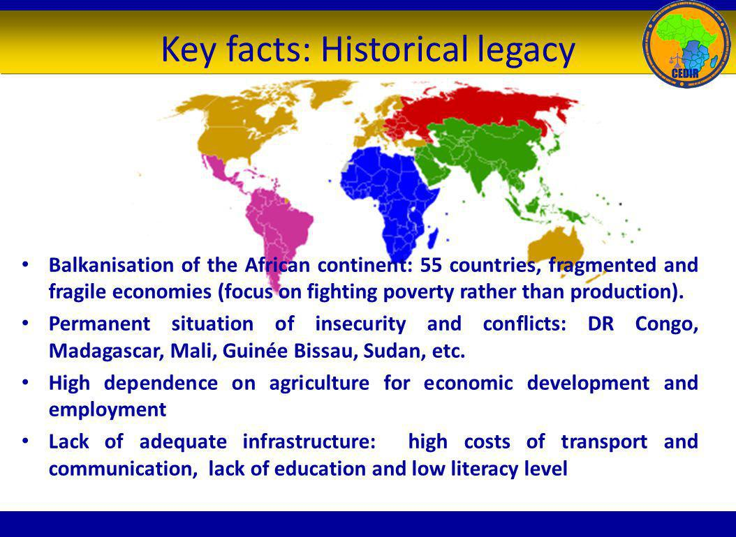 Key facts: Historical legacy