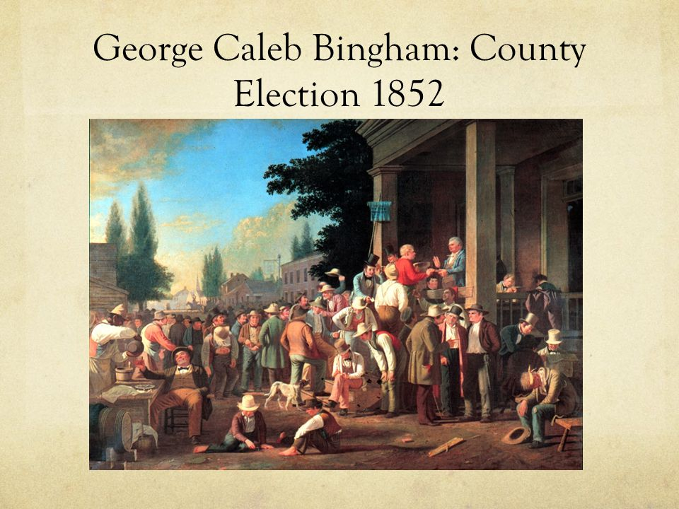 George Caleb Bingham: County Election 1852