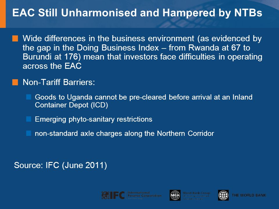 EAC Still Unharmonised and Hampered by NTBs